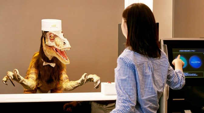 Second Robot-Staffed Hotel Opens In Tokyo Bay, Dinos Come Standard