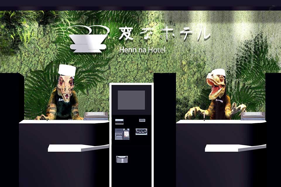 Henn-na Hotel Tokyo Has Dinosaur Robot Receptionist