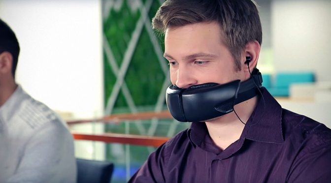 This Muzzle Will Prevent Your Yakking From Annoying Your Coworkers