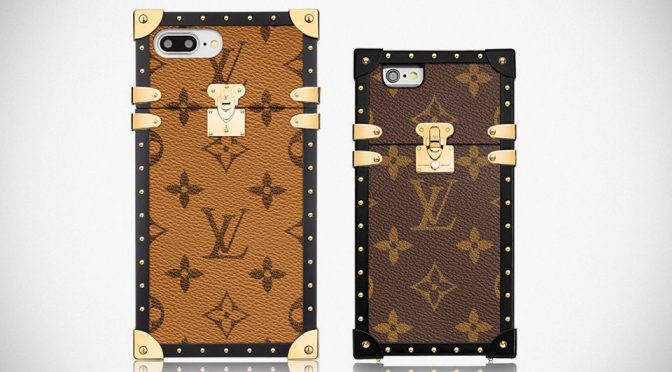 Louis Vuitton Eye-Trunk iPhone cases