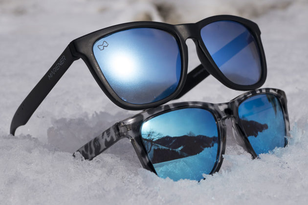 Matte Reflective Sunglasses by Mariener Eyewear