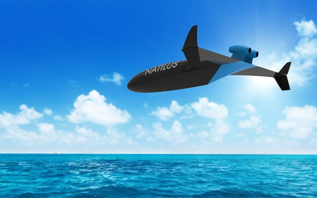 Natilus Proposed Unmanned Air Freight Drone