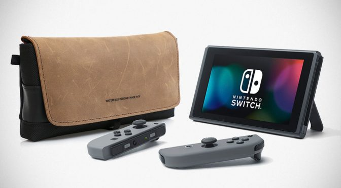 Nintendo Switch Cityslicker Case by Waterfield Designs