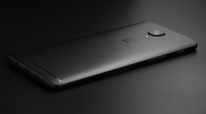 OnePlus 3T Midnight Black Limited Edition Smartphone