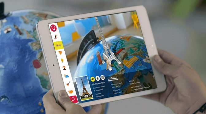 Orboot Educational Augmented Reality Globe by PlayShifu