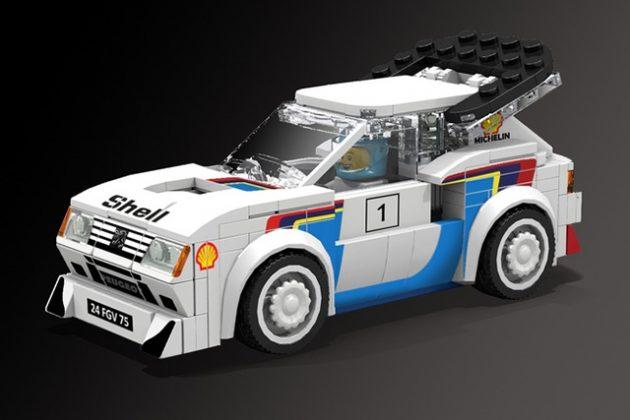 Peugeot 205 Turbo 16 LEGO Speed Champions