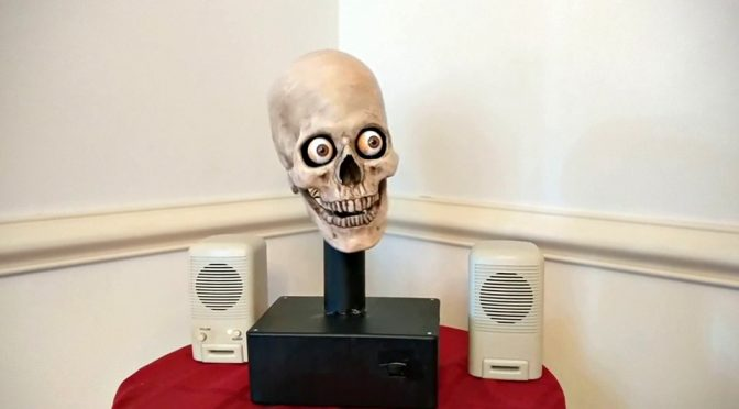 Alexa-enabled Robotic Skull Totally Reminds Us Of Crypt Keeper. Nice…