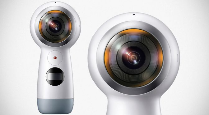 Samsung's New Gear 360 Boasts True 4K Videoing And Also, A Handle