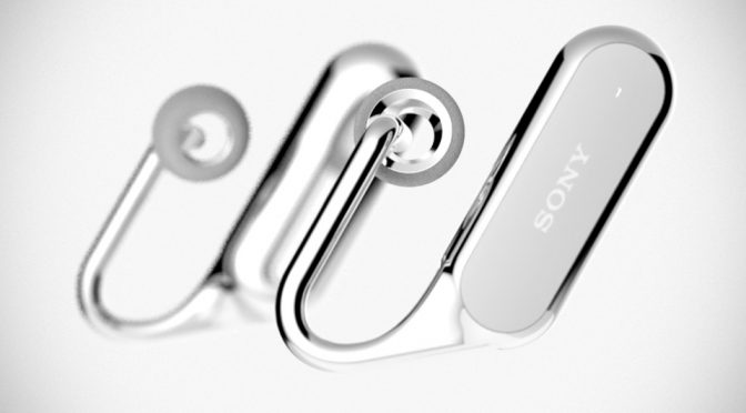 """Sony Xperia Ear """"Open-style Concept"""" Is The Future Of Headphones"""