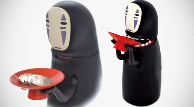 <em>Spirited Away</em> Kaonashi Musha-Musha Coin Bank Wants To Devour Your Coins