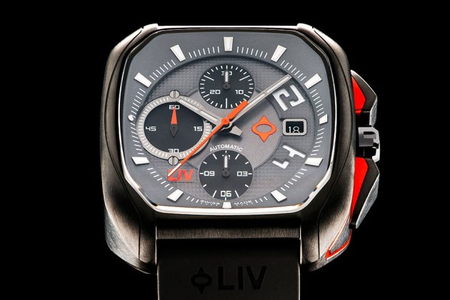 Swiss Made Rebel Automatic Chronograph Watch by LIV Watches