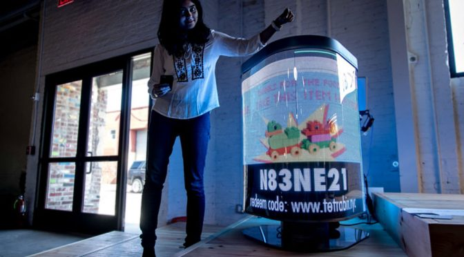 High-tech Bin Aims To Cultivate Bin-The-Trash Habit With Fun And Games