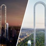 Insane 'Bent' Building Concept Would Be The World's Longest At 4,000 Ft