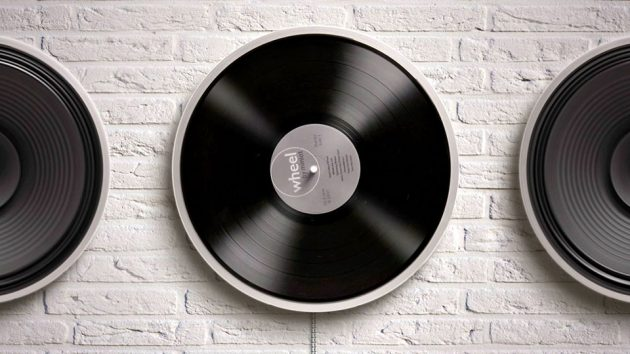 Wheel by Miniot - The Most Minimalist Turntable Ever
