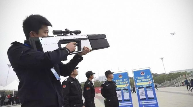 China's Anti-Drone Gun Looks Like A Weapon Fit For Sci-Fi Movies
