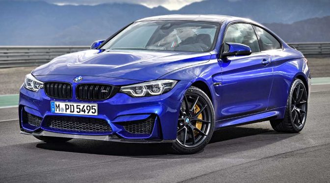 BMW Announced Exclusive Limited-run Special Edition M4 CS With 10 More HP