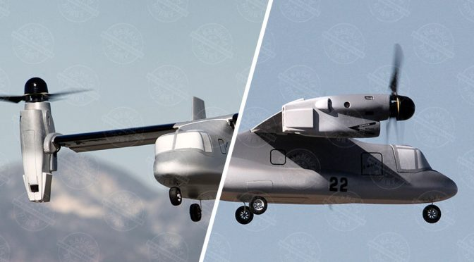 RC V-22 Osprey That Transitions Like The Real Deal Is Pure RC Gold
