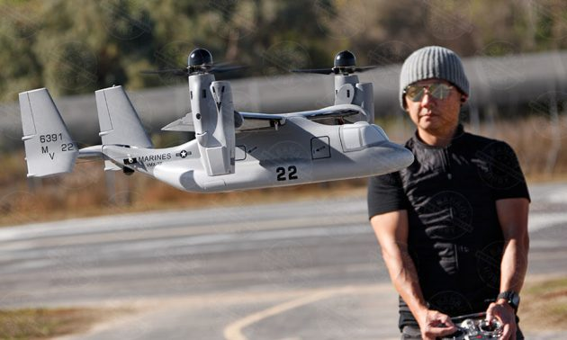 RC V-22 Osprey That Transitions Like The Real Deal Is Pure