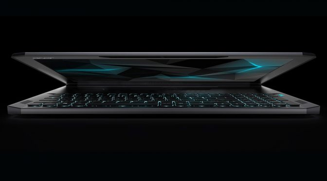 Acer Enters Thin Form Gaming Laptop Market With Predator Triton 700