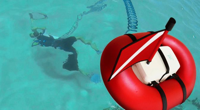 This Dive Tank Floats On The Surface So You Dive Without