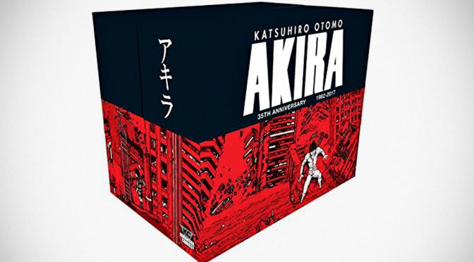 <em>Akira 35th Anniversary Box Set</em>: Complete Series In Six Vols. Hardcover To Boot.