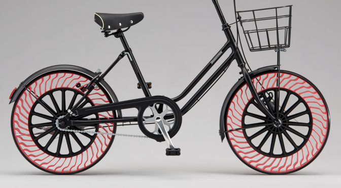 Bridgestone's Radical Airless Tire Is Making Its Way To Bicycle