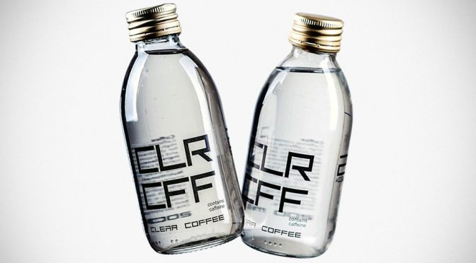 Seriously, You Won't Believe This Clear Liquid Is Actually Coffee