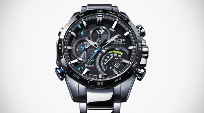 Casio EQB501XD-1A and EQB501XDB-1A EDIFICE Wrist Watches