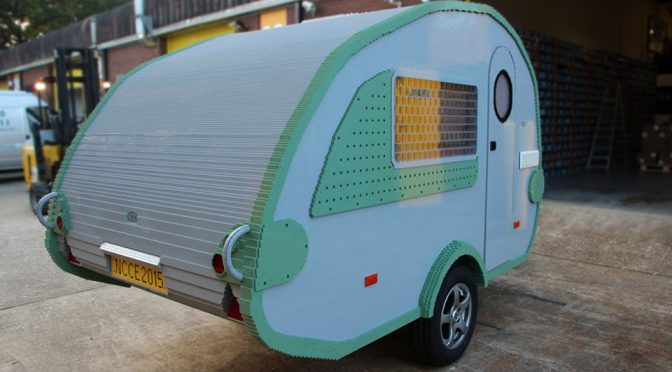 Watch A Functional Camper Built From LEGO Bricks Come To Live