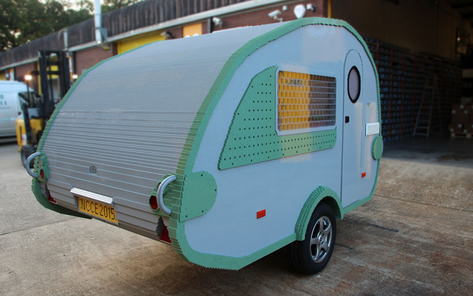 Custom Built Travel Trailers >> Watch A Functional Camper Built From LEGO Bricks Come To Live   SHOUTS