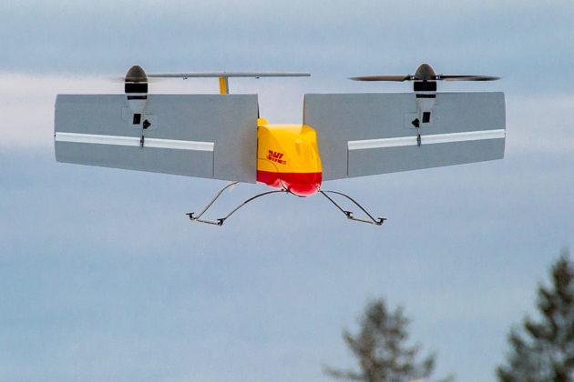 DHL Parcelcopter 3.0 Delivery Tilt-rotor Drone