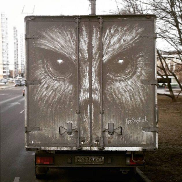 Dirty Art by Russian Artist Nikita Golubev AKA ProBoyNick