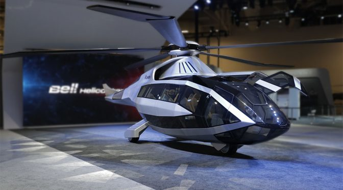 Meet The FCX-001, Bell's Radical Take On The Future Of Helicopters
