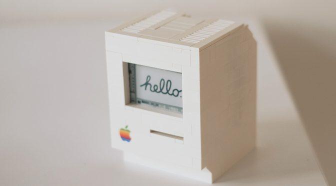 Programmer Built A Miniature Working Macintosh Using LEGO Bricks