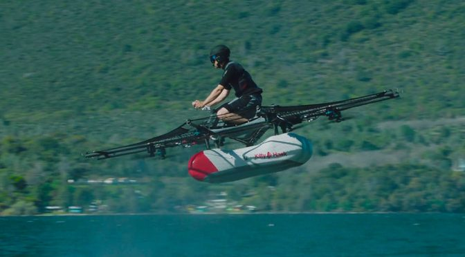 "This Is The First ""Flying Car"" By Larry Page-backed Startup, Kitty Hawk"