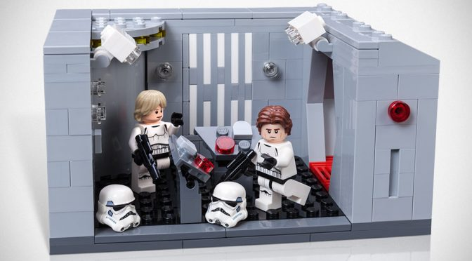 LEGO Star Wars Celebration Exclusive Detention Block Rescue Set