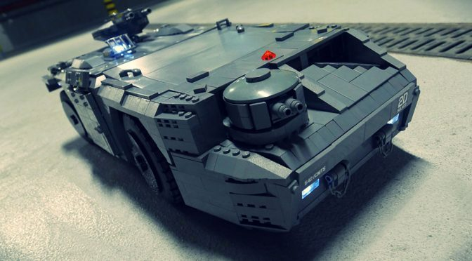 The Details That Goes Into This <em>Aliens</em> LEGO Technic M577 APC Is Insane!