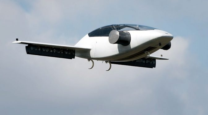 "All-electric 300mi Range VTOL ""Flying Car"" Made Successful Maiden Flight"