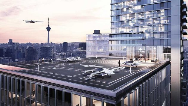 Lilium Jet Electric Vertical Takeoff and Landing Aircraft