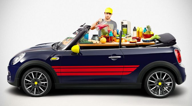 MINI John Cooker Works Will Turn A MINI Drop Top Into A Mobile Cook Top