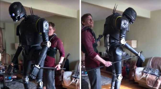Check Out This Awesome K-2SO 'Cosplay' That Is Actually A Puppet