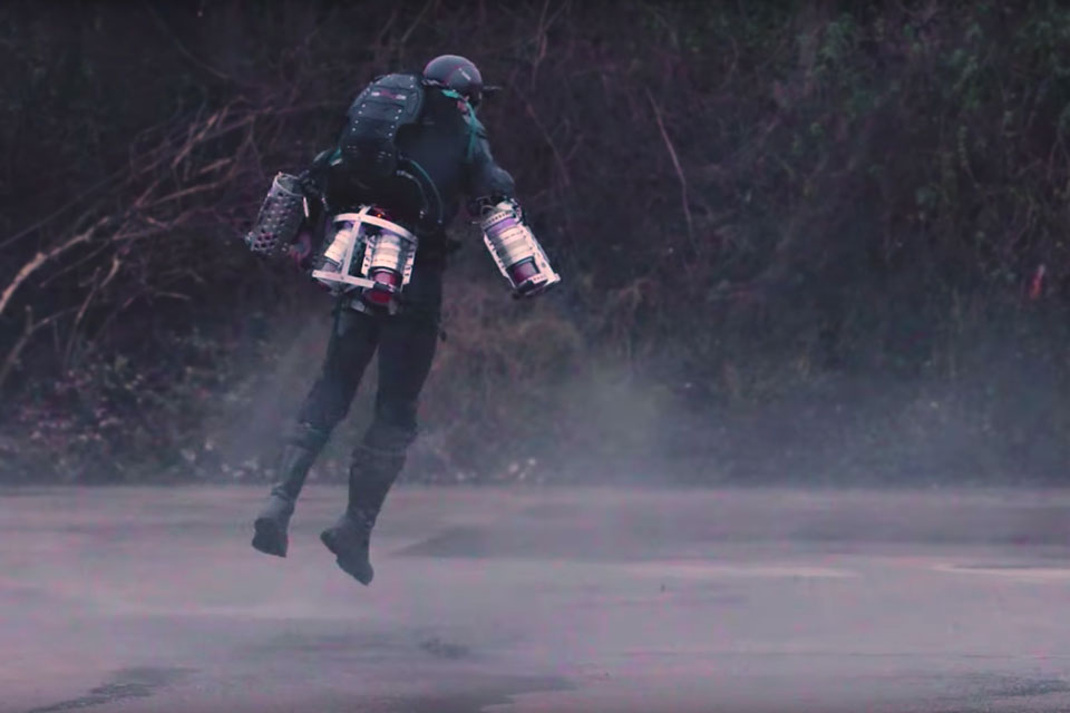 "Real-life ""Iron Man"" Flying Suit by Richard M. Browning"