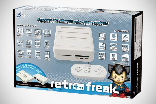 Retro Freak 12-in-1 Video Game Console