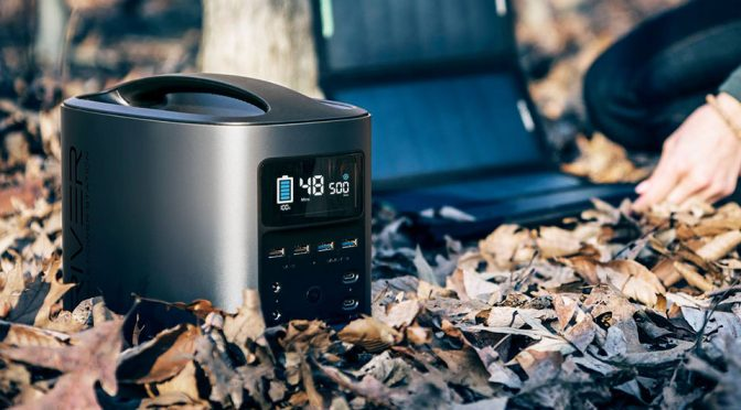 River Mobile Power Station Is Off-The-Grid Gadget Users Dream Come True