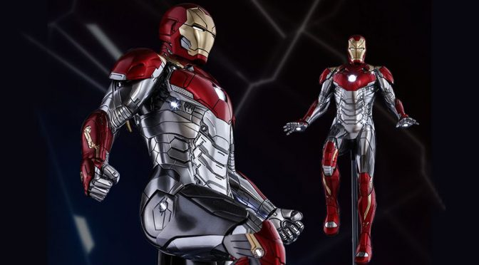 New Iron Man Suit From <em>Spider-Man: Homecoming</em> Previewed By Hot Toys