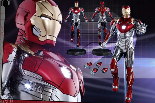 Spider-Man: Homecoming 1/6th Scale Iron Man Mark XLVII Action Figure