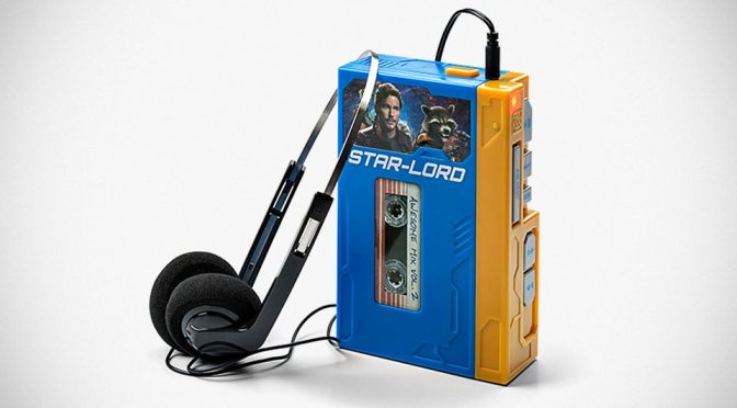 Star Lord's Walkman with Headphones Retro Recordable Player