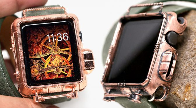 Steampunk Apple Watch? We Say Why The Hell Not?