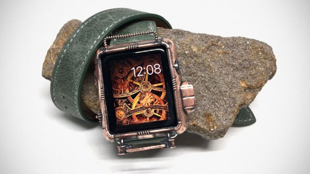 Steampunk-style 42mm Apple Watch Cover by JoyComplex