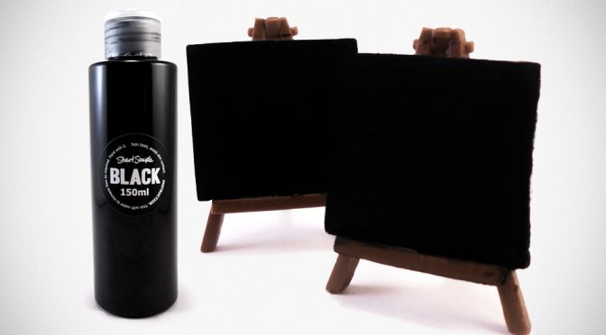 The World's Blackest Substance Has Met Its Match And It's Called Black 2.0